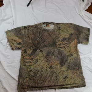 Mossy Oak Russell Athletic Camouflage tshirt